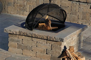 Olde English Square Fire Pit Kit