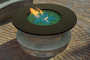 Fully Assembled Cambridge Gas Fire Table