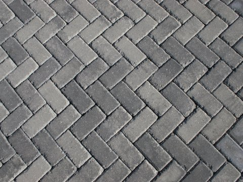 Holland Antiqued • Granite City Blend • 45 Degree Herringbone