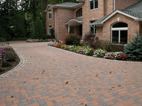 Country 4 Piece Combo • Terra Cotta Blend • 90 Degree Herringbone