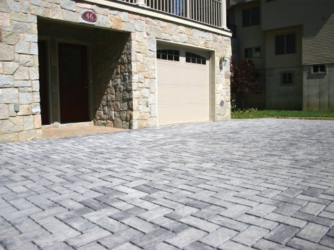 Eco-Ridge • Granite City Blend • 90 Degree Herringbone