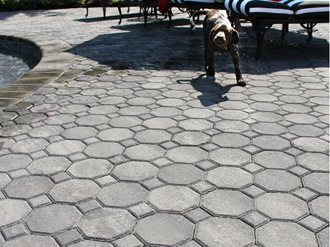 Cobble Stone • Granite City Blend • Herringbone