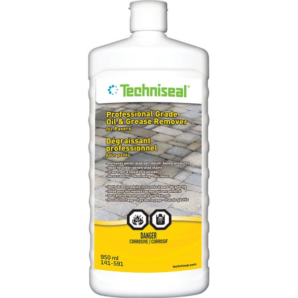 Professional-Grade Oil & Grease Remover For Pavers